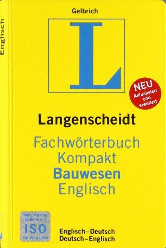 Fachwörterbuch Bauwesen Englisch