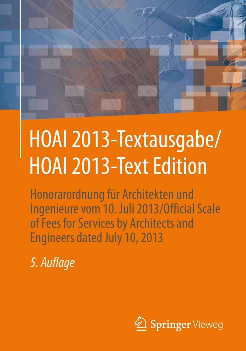 HOAI 2013 auf Englisch
