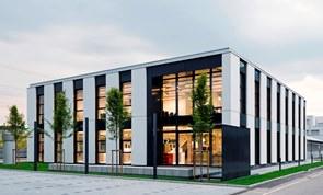 Hager Emmenbrücke Kundenzentrum, Schweiz schneider + schuhmacher Planungsgesellschaft mbH