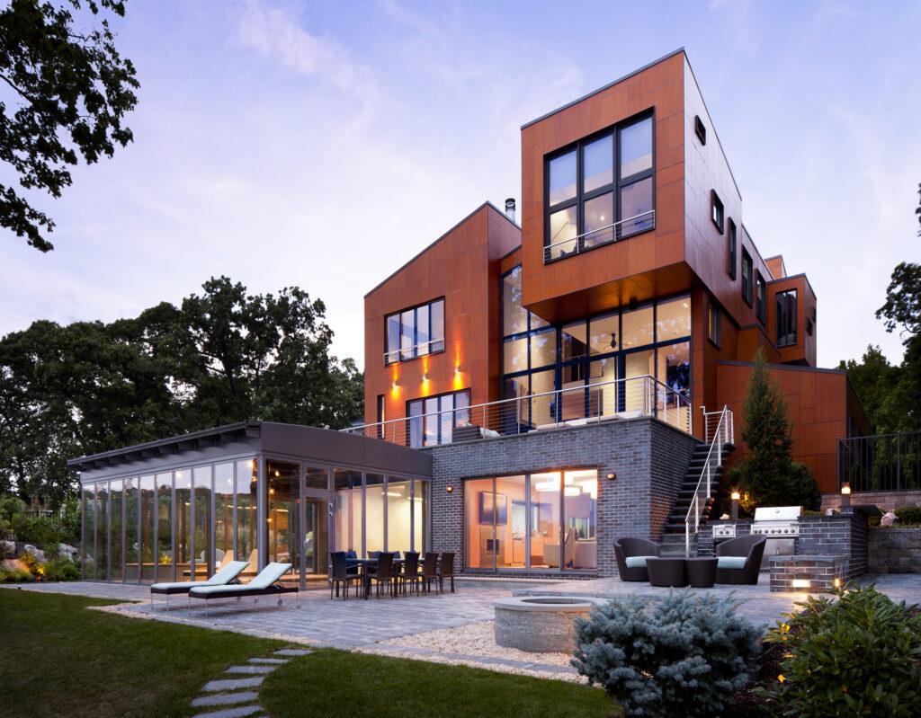 Nachhaltiges Haus am Wasser