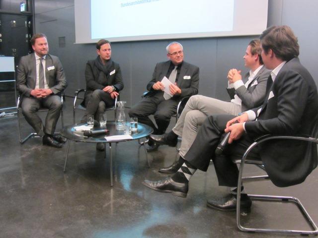 v.l.n.r.: Andreas Baum, Benjamin Haupt, Alexander Schwab, Clemens Bachmann, Hieronimus Nickl