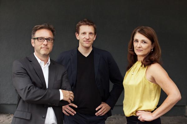 v.l.n.r.: Christian Lehmhaus, Benjamin Hossbach, Christine Eichelmann