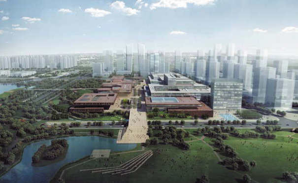 Urban planning and design for the Railway Eco Business District, Qingdao, China