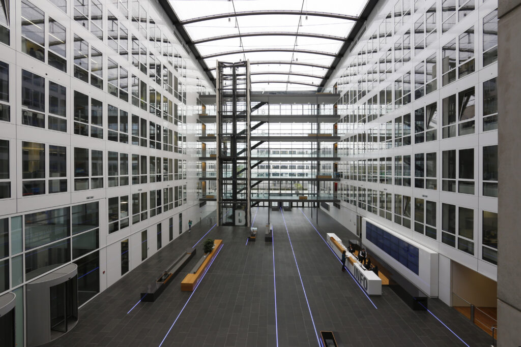 Unternehmenszentrale der Fraport AG, Flughafen Frankfurt