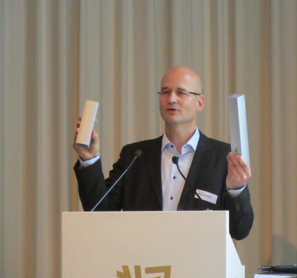 Günther Weizenhöfer, GEZE GmbH