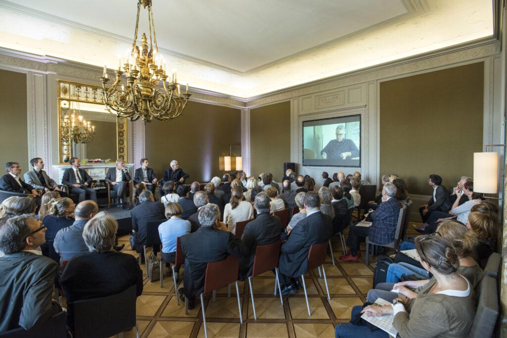 Podiumsgespräch in der Schweizerischen Botschaft in Berlin