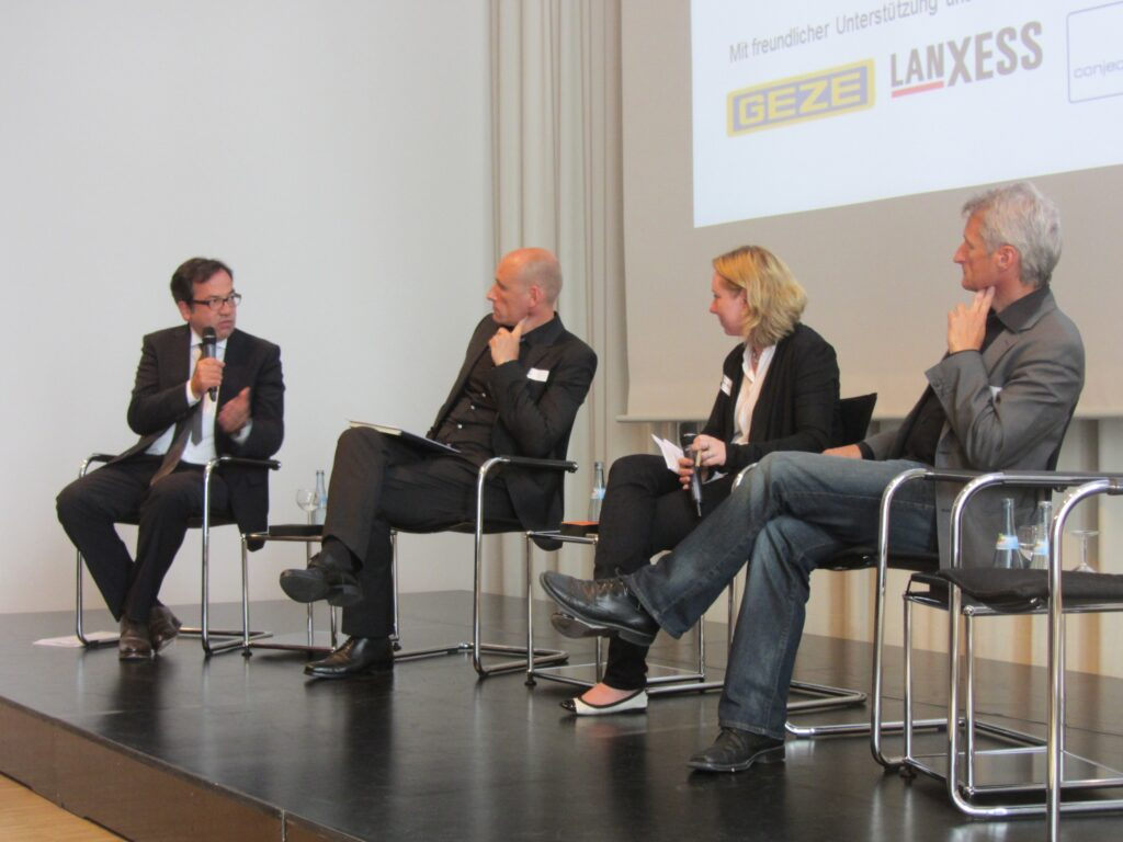 Jürgen Oswald, Philipp Auer, Inga Stein-Barthelmes, Dieter Grau, © BAK