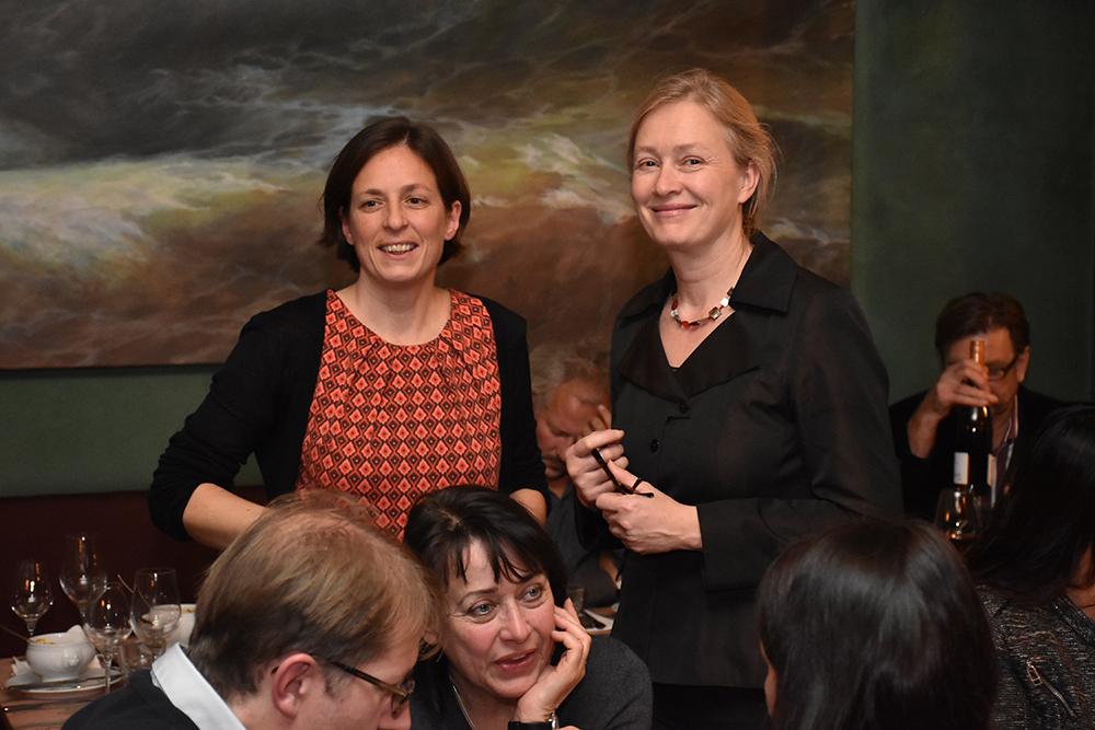 Hille Bekic, S3A Architektur (Moderation), Theresa Keilhacker, Vizepräsidentin AK Berlin