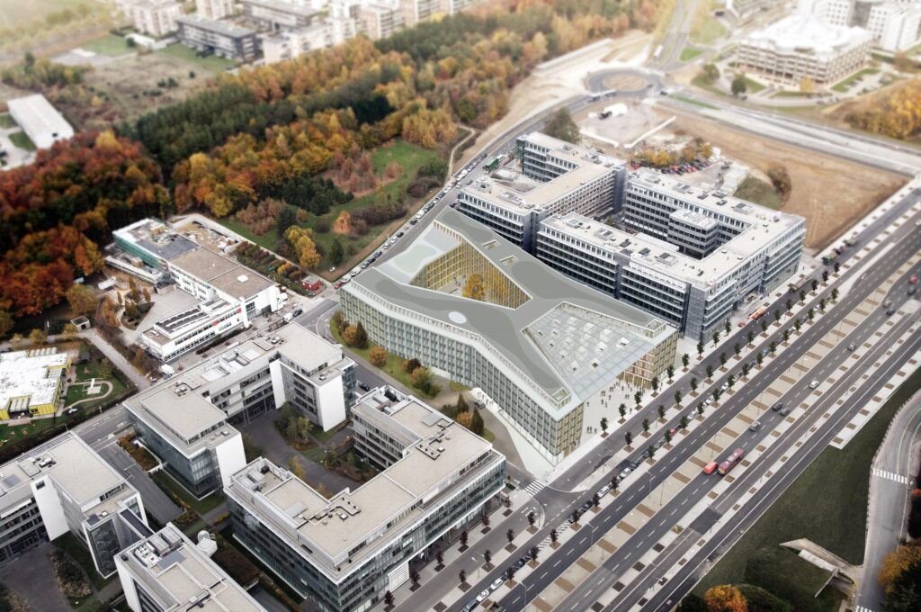 Ernst&Young HQ in Luxemburg
