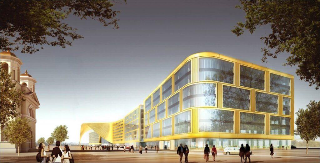 Projekt: Expo-Gate Messe St. Petersburg
