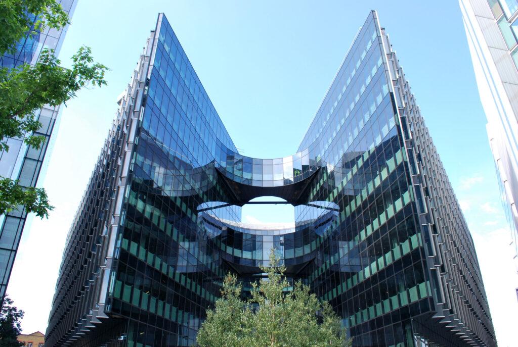 ipasol Sonnenschutzglas-Fassade, 7 More London