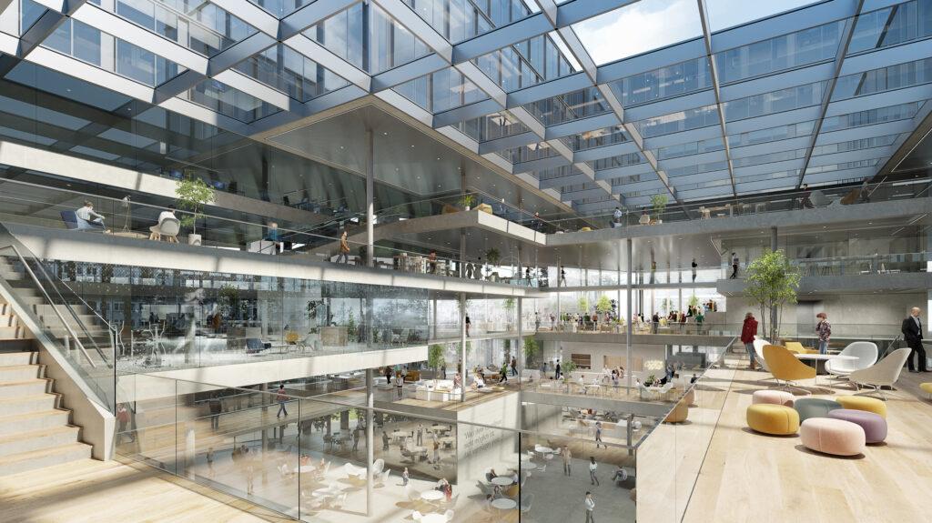 Wettbewerbserfolg: Der neue RLB Campus in Linz/Österreich entsteht nach dem Siegerentwurf von ©HENN