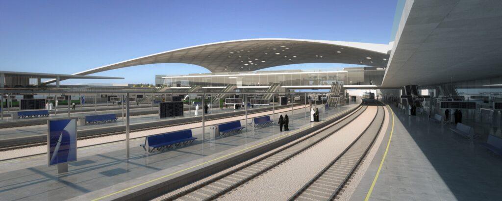 Hauptbahnhof Hamma in Algier / Algerien, Innenansicht