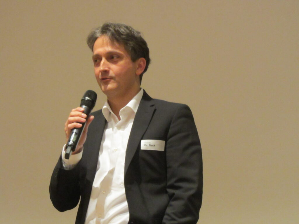 Dr. Alexander Beck, Architekt und CEO der German Planing and Development