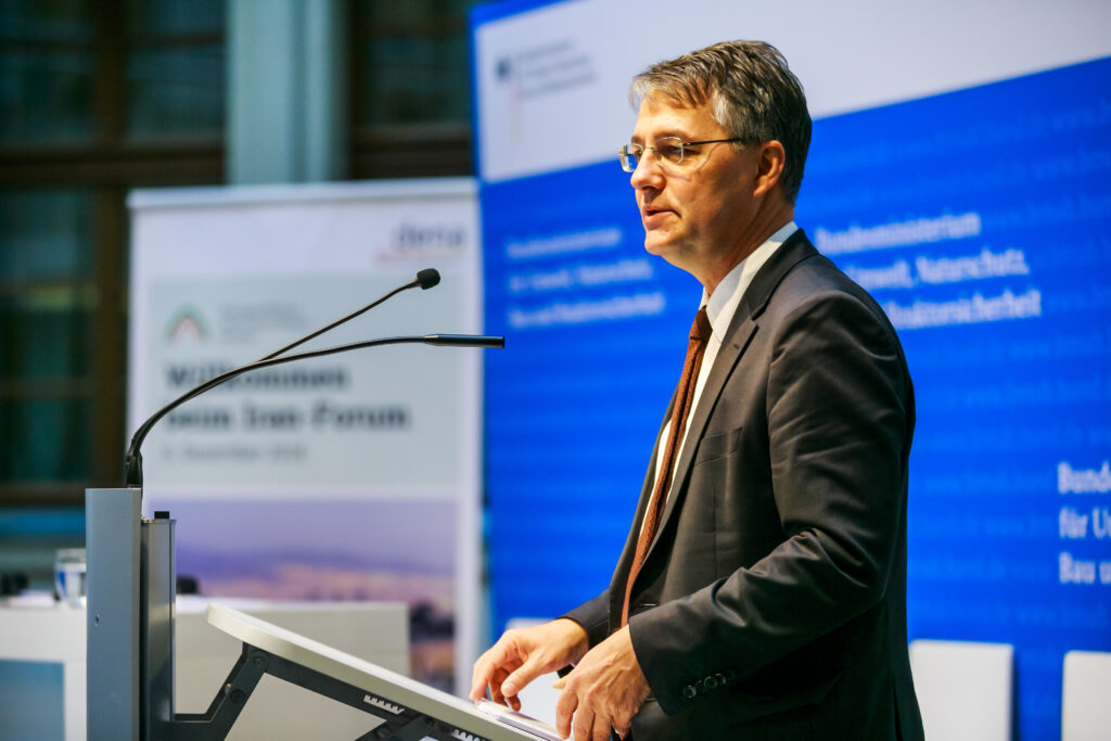 Bau-Staatssekretär Gunther Adler