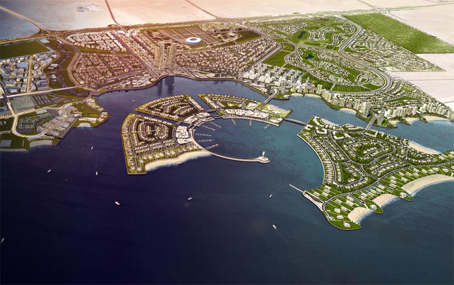 Urbanisierungsprojekt: Lusail / Katar