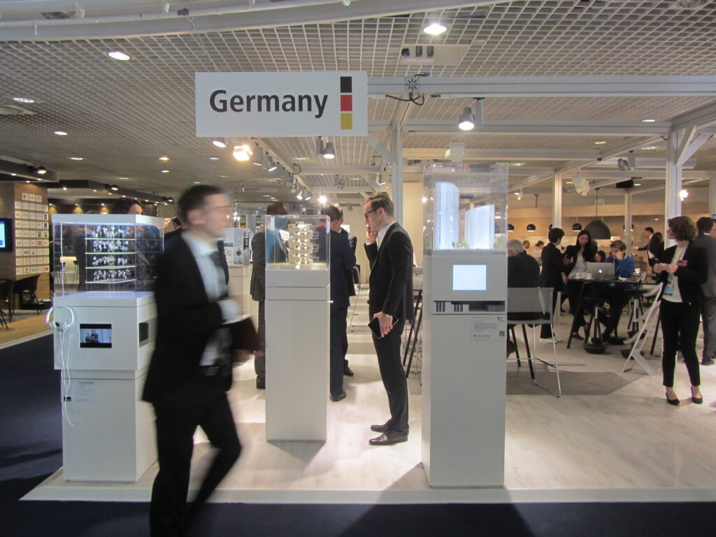 MIPIM 2017, German Pavilion