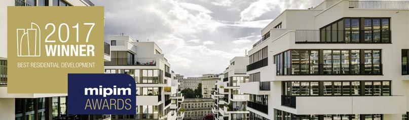 Das Bauprojekt in der Berliner Liebigstraße 1 von zanderrotharchitekten erhielt eibeb MIPIM Award auf der diesjährigen Messe.