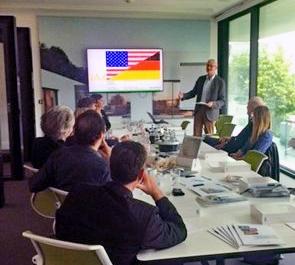 Treffen NAX mit US-Architekten im Hause Schüco, Berlin