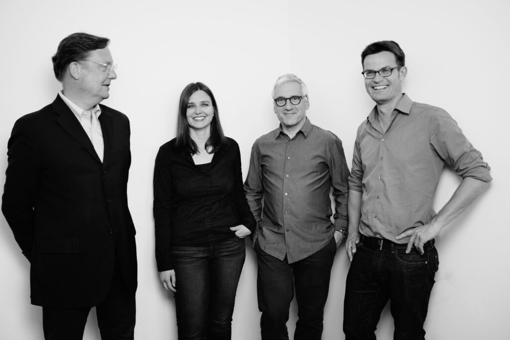 v.l.: Th. Müller, R. Scheibler, I. Reimann, T. Glasenapp