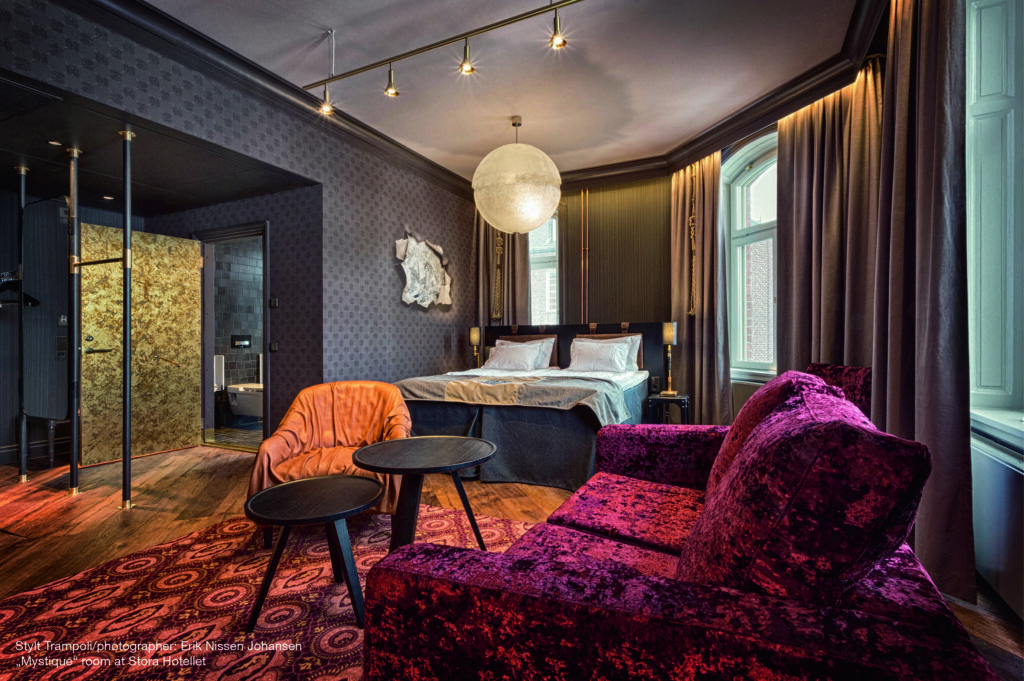 Individuelle Architektur, exklusives Design:  Das Stora Hotellet im schwedischen Umeå.