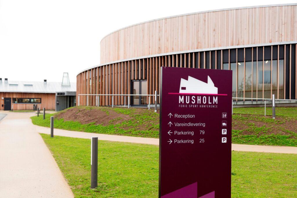 Musholm Freizeit-, Sport- und Konferenzzentrum, Korsör, Dänemark