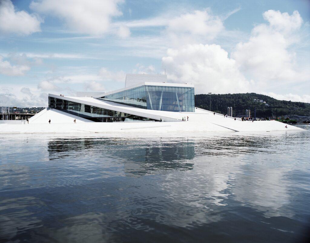 Opernhaus in Oslo, Norwegen