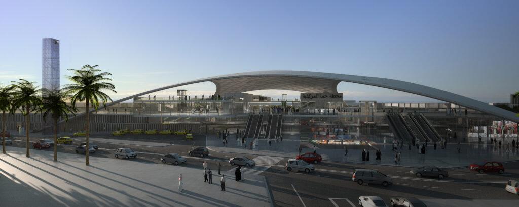 Hauptbahnhof Hamma in Algier / Algerien