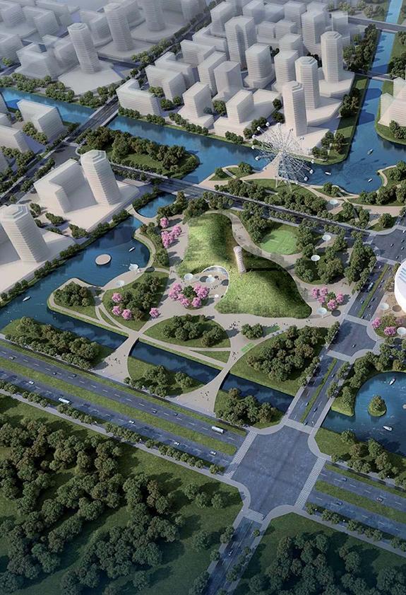 Civic Center, Hangzhou / China