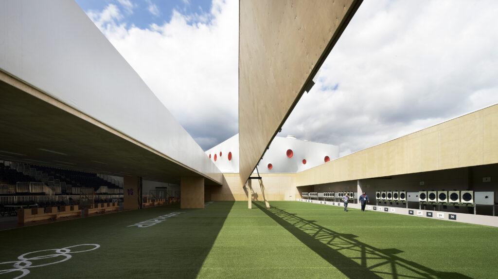 Olympische Sportstätte in London 2012 vom Berliner Büro magma architecture