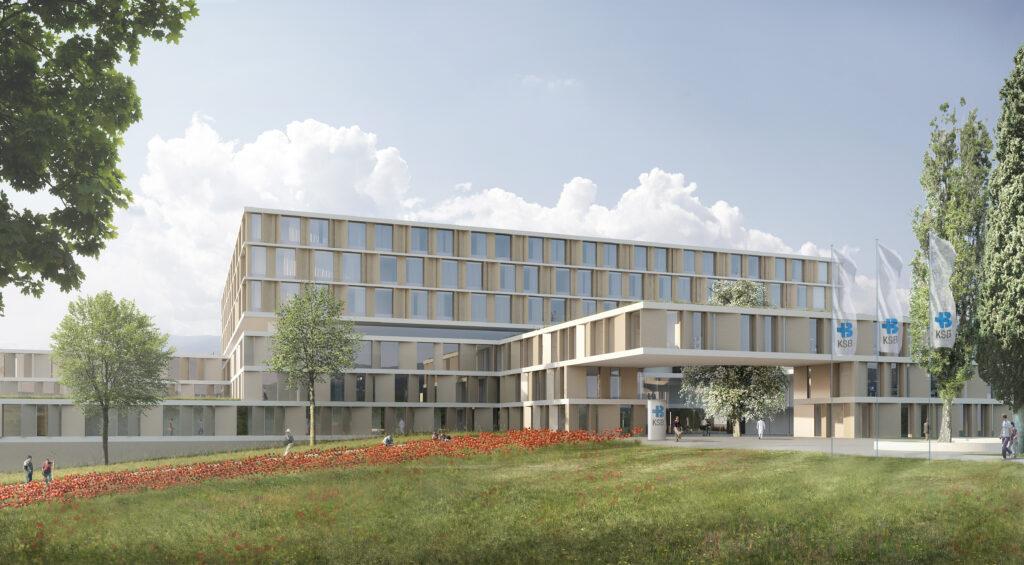 Neubau des Kantonspitals Baden (KSB), Schweiz