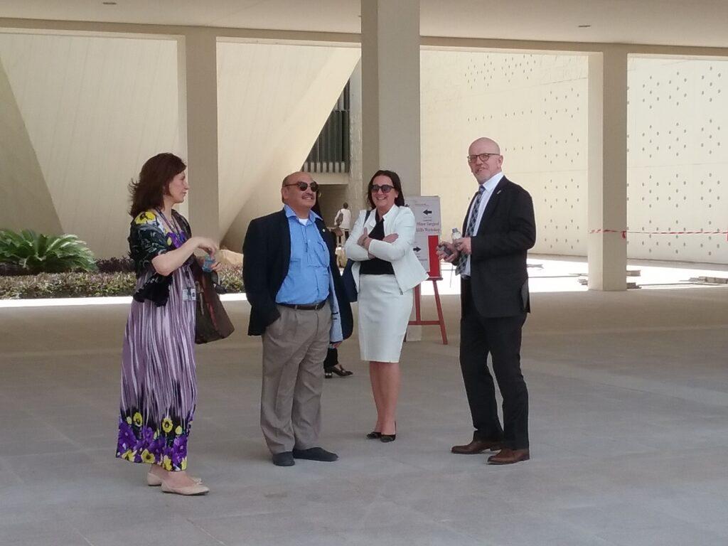 MSAO FUTURE FOUNDATION – QNL Preview mit Vorstellung Masterplan Education City und Architektur mit lokalen Partnern  ©MSAO