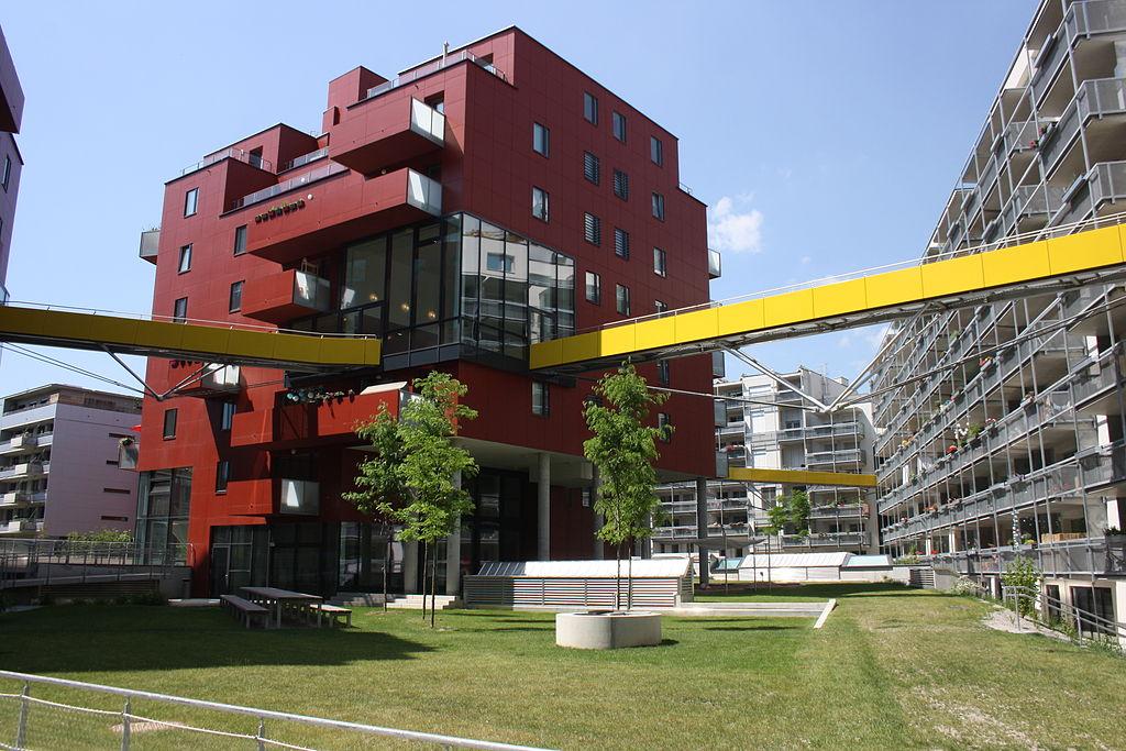 Projekt wohn_zimmer im Sonnwendviertel von Studio Vlay, Karoline Streeruwitz, Riepl Kaufmann Bammer Architektur und Klaus Kada