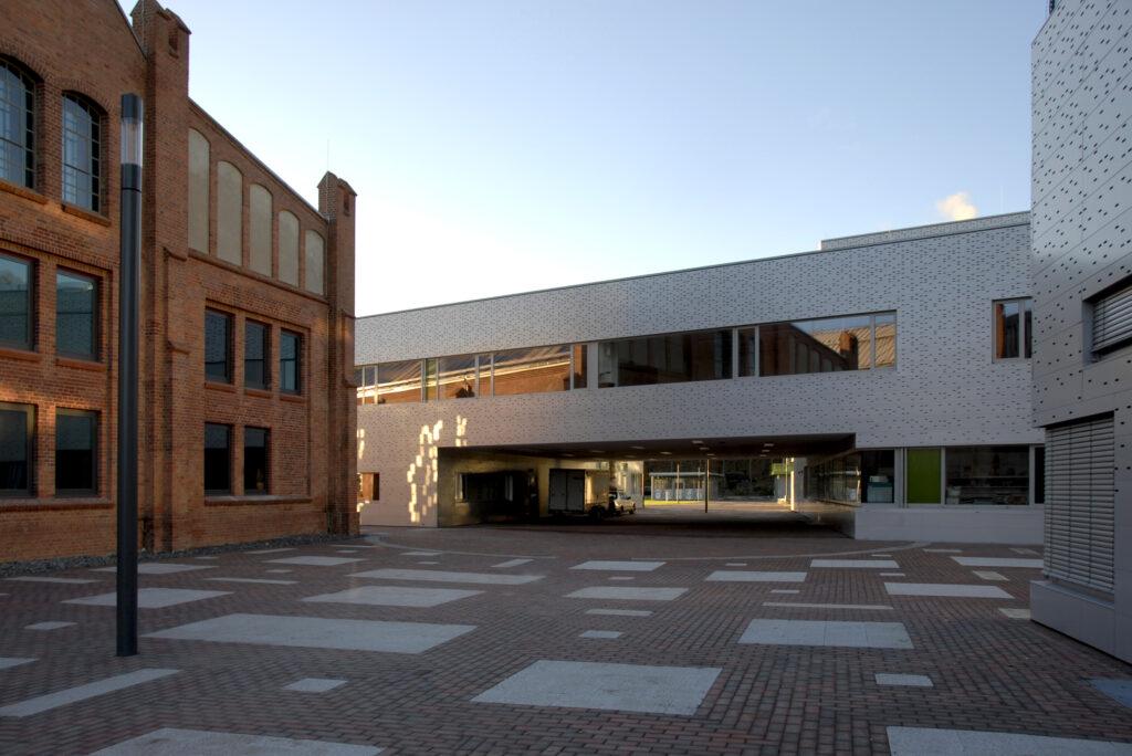 Neubau und Sanierung auf dem Campus der TH Wildau, Hörsaalzentrum und Verfügungsgebäude, Wildau