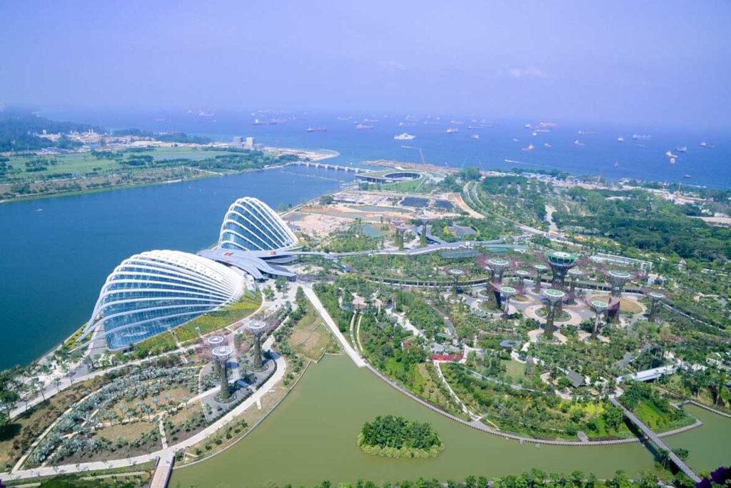 Projekt: Gardens by the Bay, Gewächshäuser, Singapore,  Bauherrenberatung: Transsolar KlimaEngineering