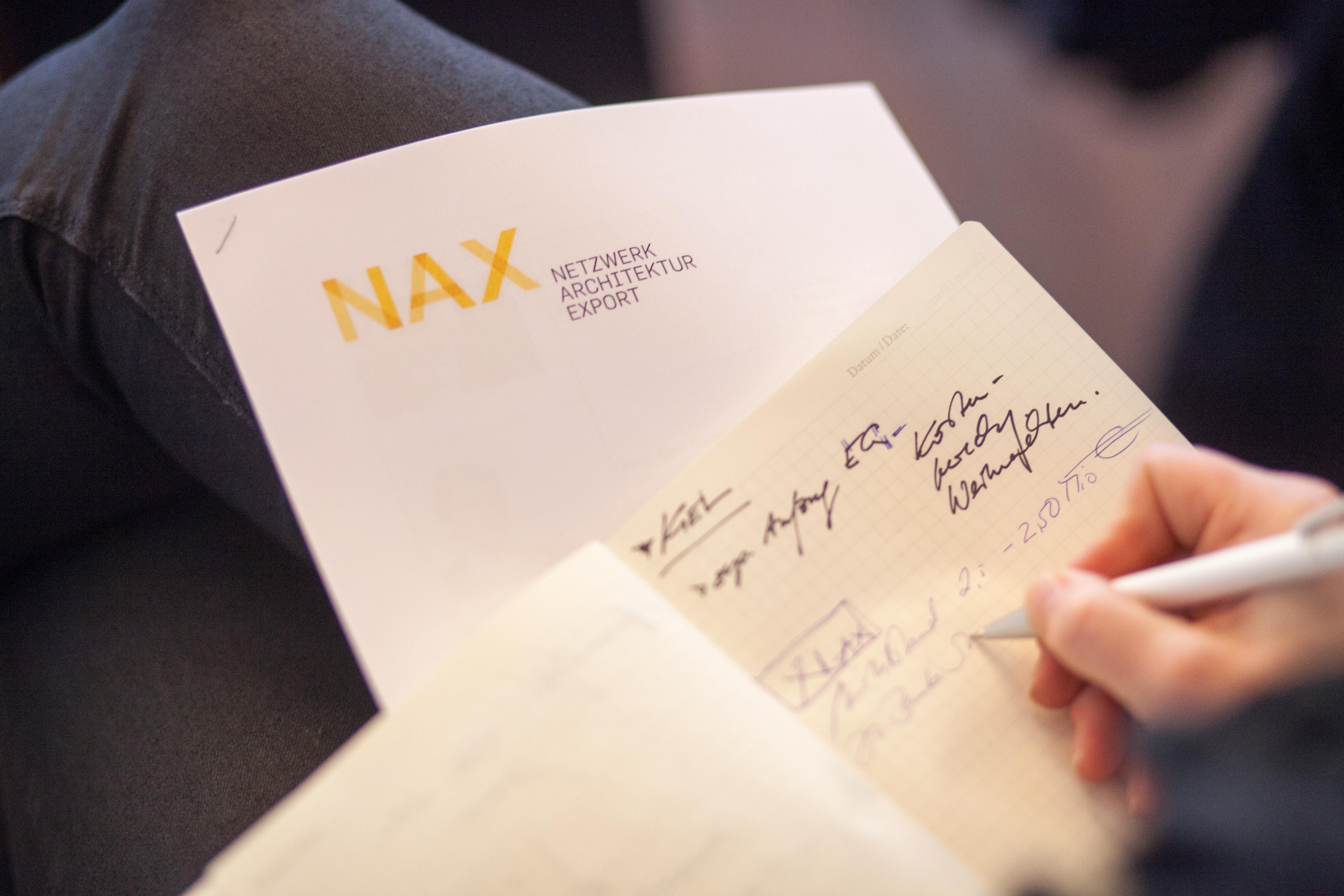 "NAX-Fortbildungsveranstaltung ""Planen & Bauen International"""