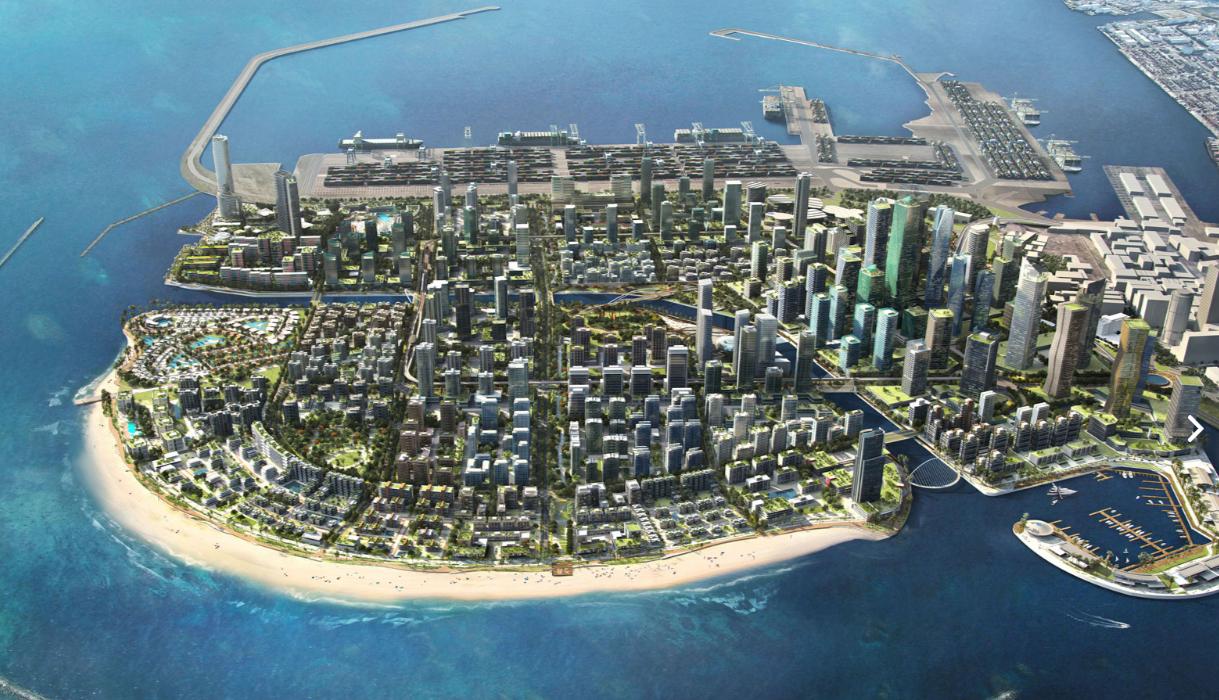 Sri Lankas Mega Projekt Colombo Port City