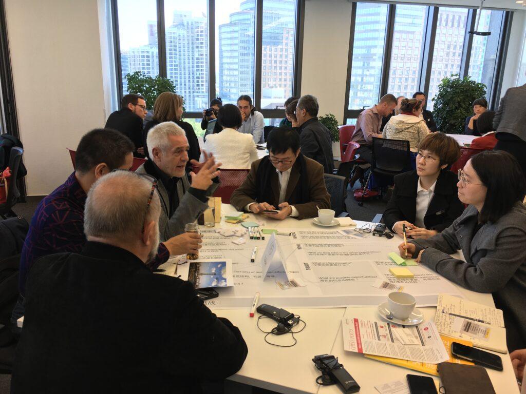 In der vertieften Diskussion mit den Vertretern des Yuhua Bezirks ging es v.a. um die Stärkung des Forschungs- und Innovationsstandortes.