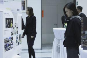 Veranstaltung in der Deutschen Botschaft Peking: Kennenlernen im Speed Dating-Format