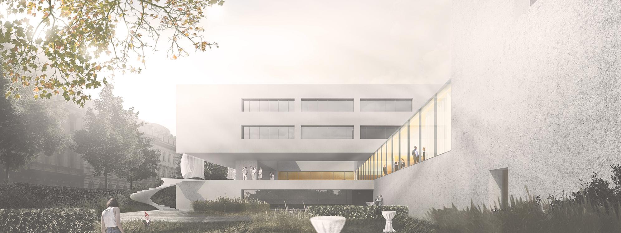 Aktuelle BIM-Politprojekte im Bundeshochbau: Deutsche Botschaft Wien