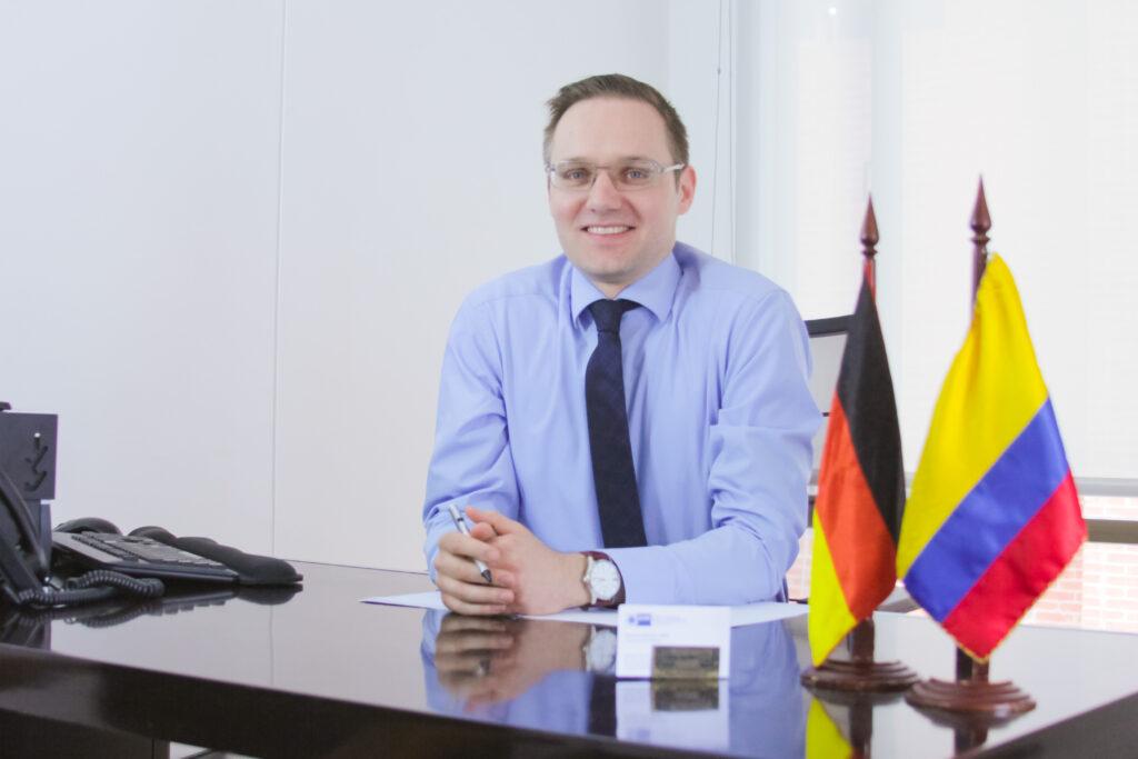 Thorsten Kötschau, Hauptgeschäftsführer AHK Kolumbien