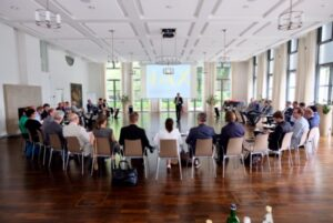 Der German Pavilion auf der  MIPIM 2019