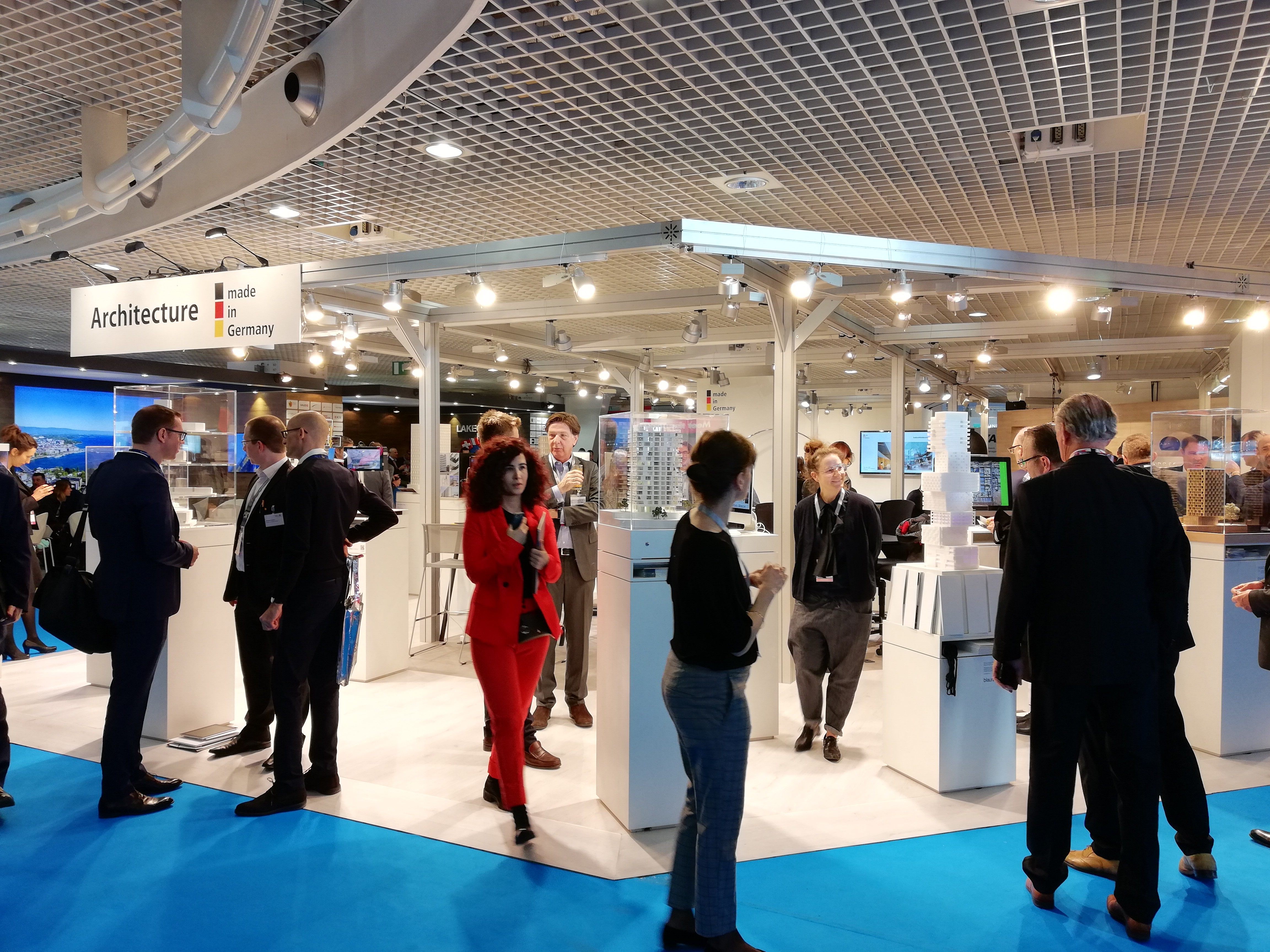 German Pavilion auf der MIPIM 2020