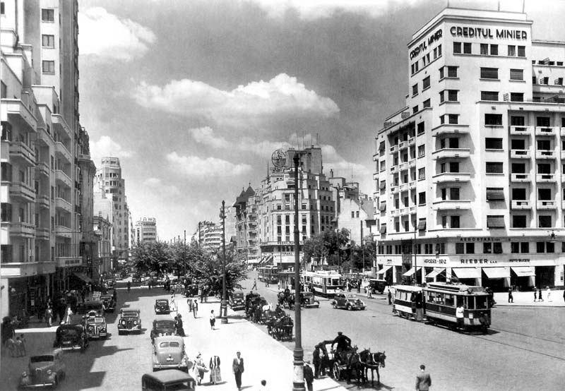 Bauhaus, Bukarest und Erdbeben