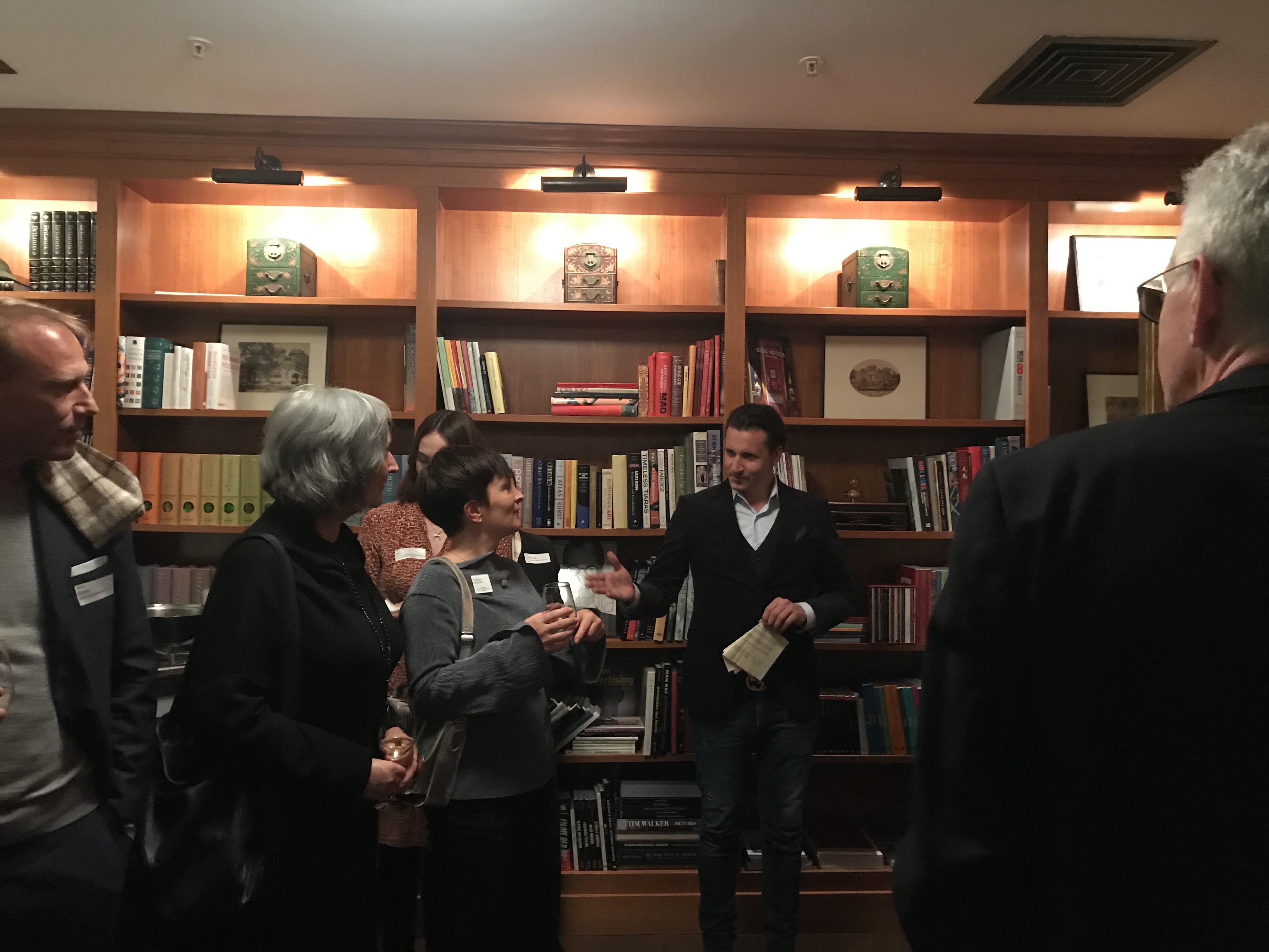 NAX-Partner Alexander Köhler von AIC International begrüßte als Miteinladender die Gäste.