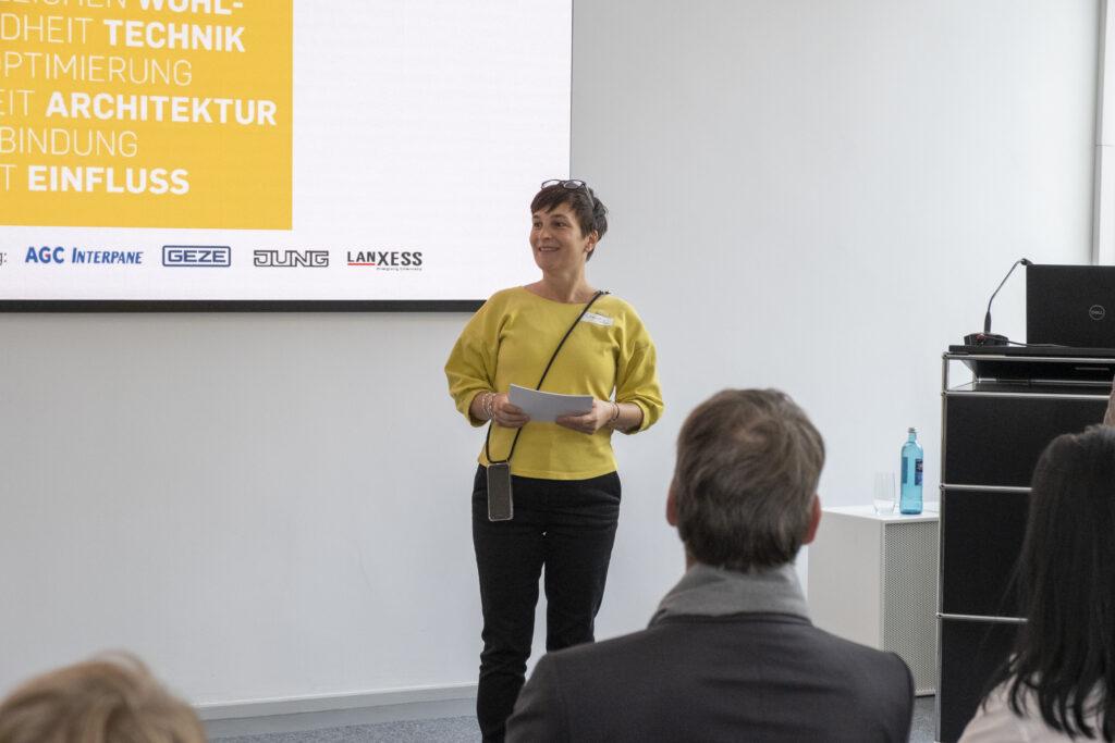Claudia Sanders, Koordinatorin des Netzwerk Architektur-export NAX