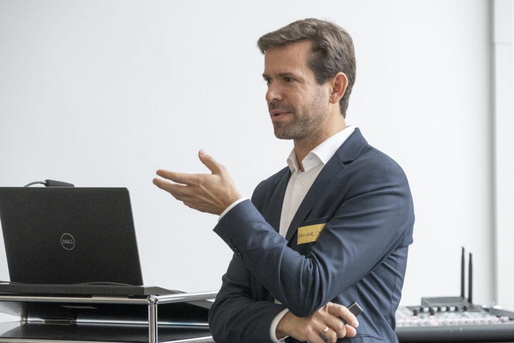 Werner Frosch, Geschäftsführer der Münchener Niederlassung des dänischen Büros Henning Larsen