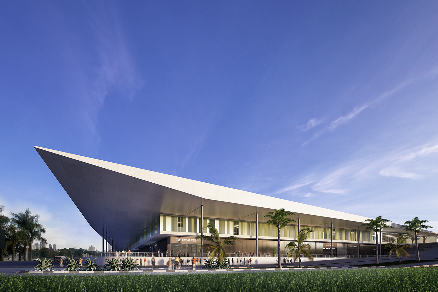 Experience Working on the Sao Paulo Exhibition  and Convention Center