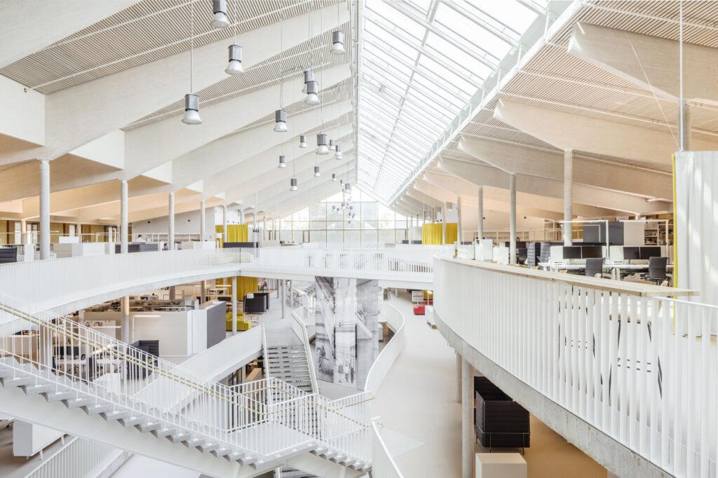 Grünes Symbol für Darmstadt Alnatura Campus || Architekten: haas cook zemmrich Studio 2050