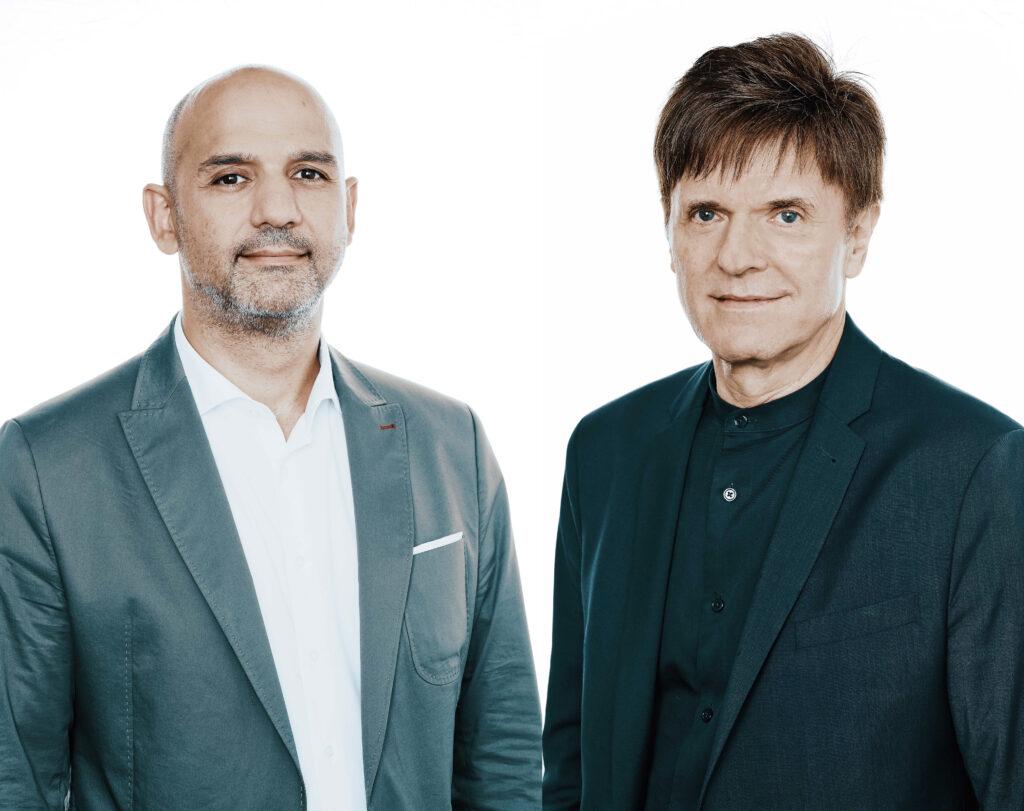 Partner Antonino Vultaggio und Senior Partner Gerhard G. Feldmeyer, HPP Architekten
